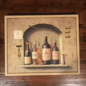 Portrait picture of wine 🍷 bottles